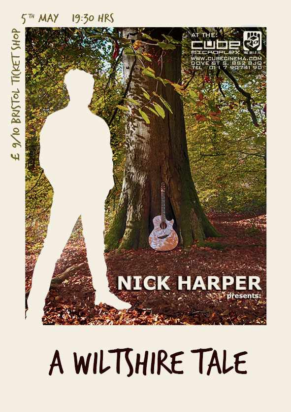 Picture for event Nick Harper preforms A Wiltshire Tale